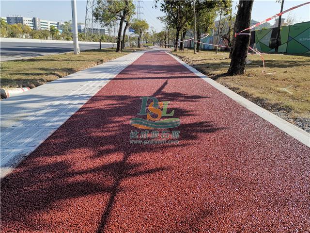 增城经济技术开发区生态彩色透水混凝土