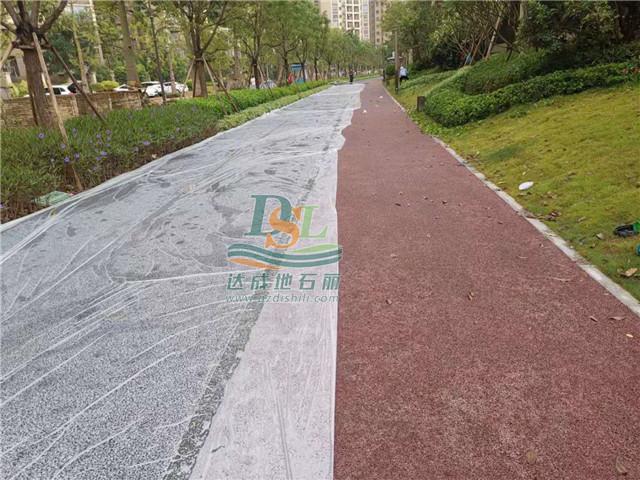 惠州龙光城北九期透水混凝土项目