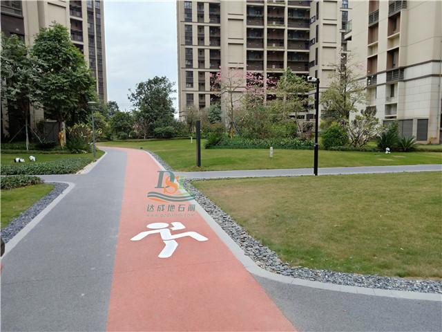 增城朱村中航城花园生态透水混凝土