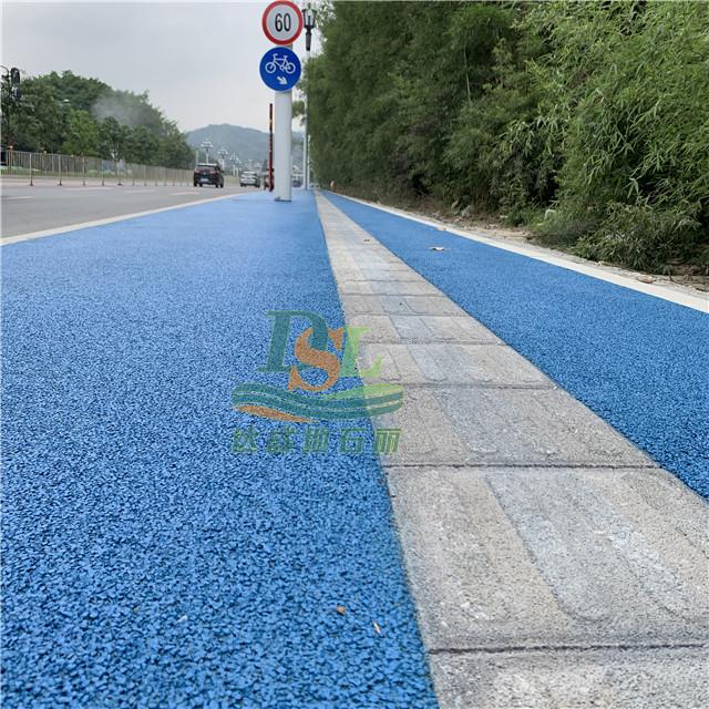 广汕公路一标透水混凝土项目