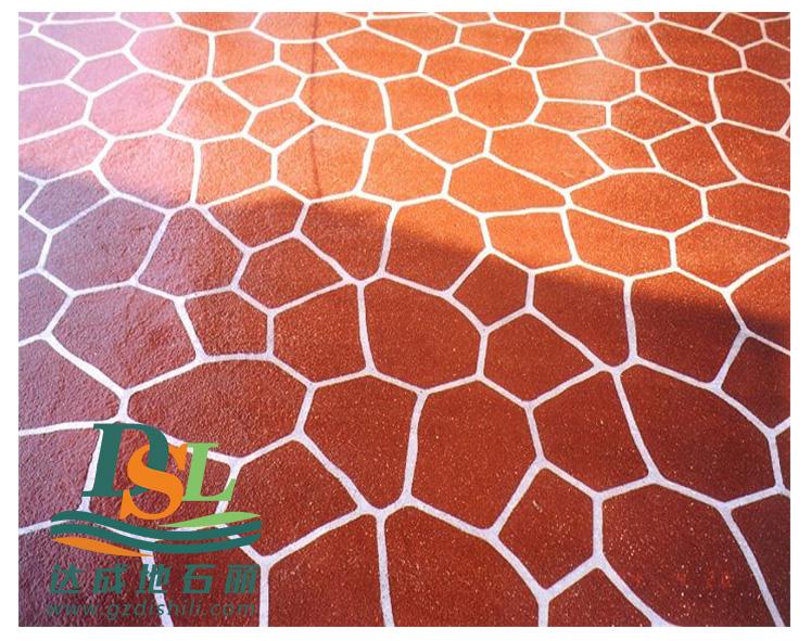 3d立体纸模彩绘地坪,彩绘石艺术地坪