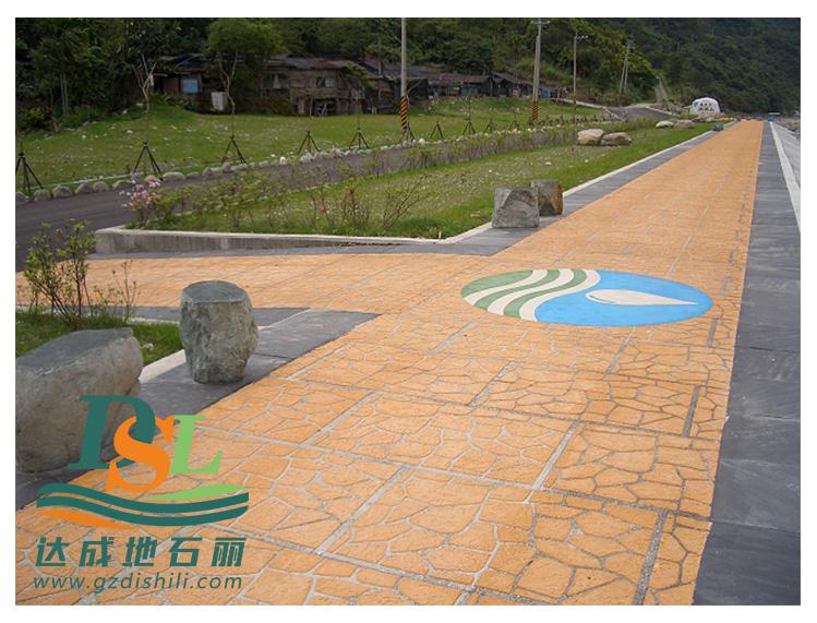 3d立体纸模彩绘地坪,彩绘石艺术地坪市政路面