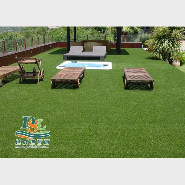 人造草园林景观应用