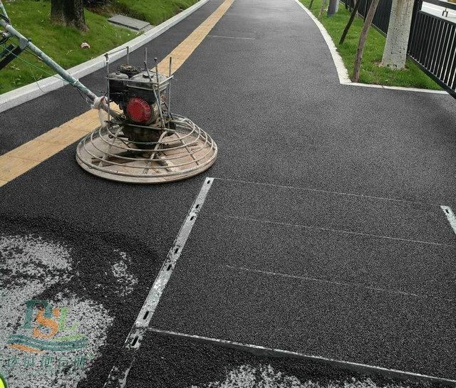 深圳彩色透水混凝土
